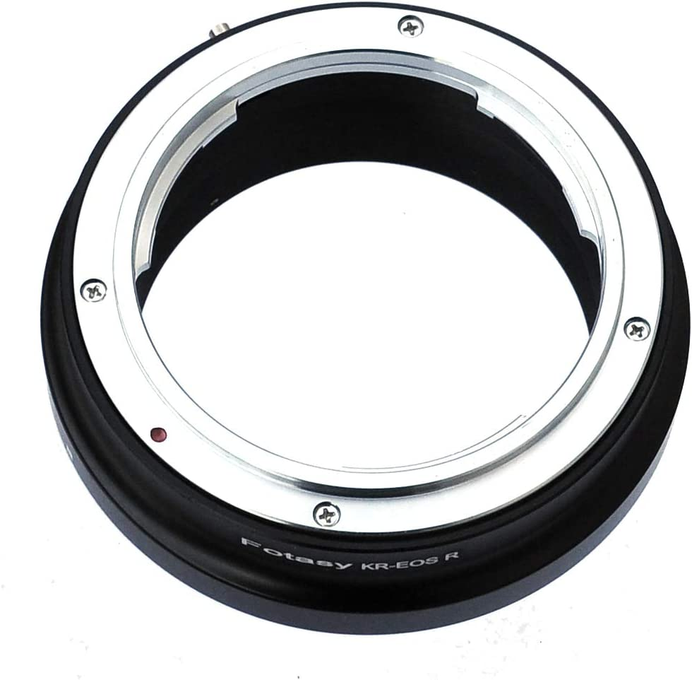 M42 EOS R fits M42 42mm Screw Mount Lens /& Canon EOS R Mirrorless Camera EOS R//EOS RP M42 EOS R Adapter M42 RF Adapter M42 EOS RP Adapter Fotasy M42 Lens to Canon EOS R Mount Adapter