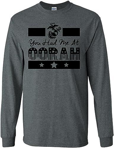 zerogravitee You Had Me at Oorah USMC Hooded Sweatshirt