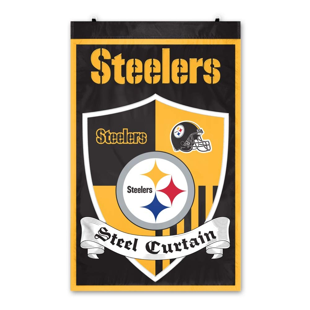 Party Animal Pittsburgh Steelers Shield Banner by Party Animal