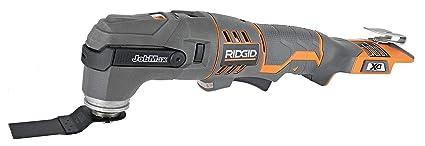Amazon.com: Ridgid r862005 18 V Jobmax Base y herramienta de ...