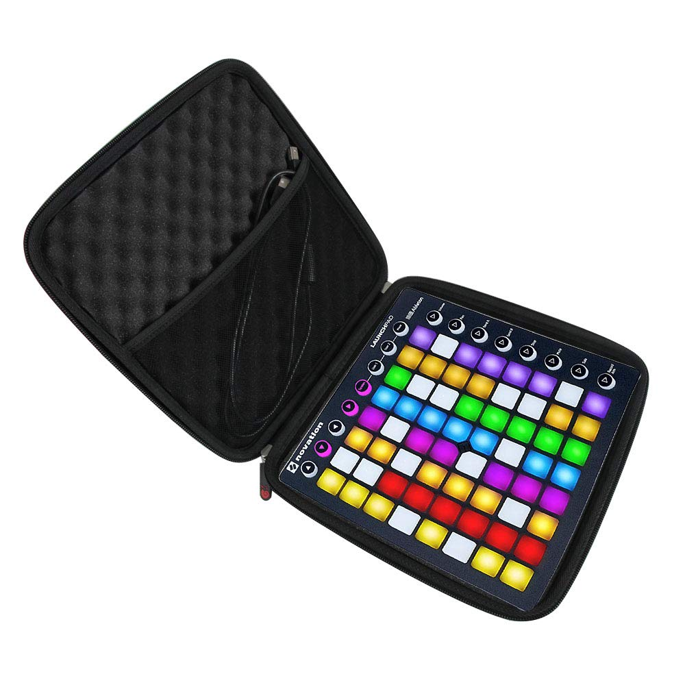 Hermitshell Hard Travel Case for Novation Launchpad Ableton Live Controller with 64 RGB Backlit Pads