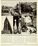 1924 Print New Guinea Sambio Headhunter Tribe