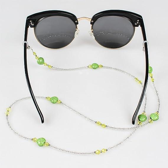 Soleebee 3 pezzi universali Corda per occhiali Sport Cordino per occhiali/Corda per occhiali/Occhiali da sole Cordino per collo/portaocchiali pkVOLjsuE