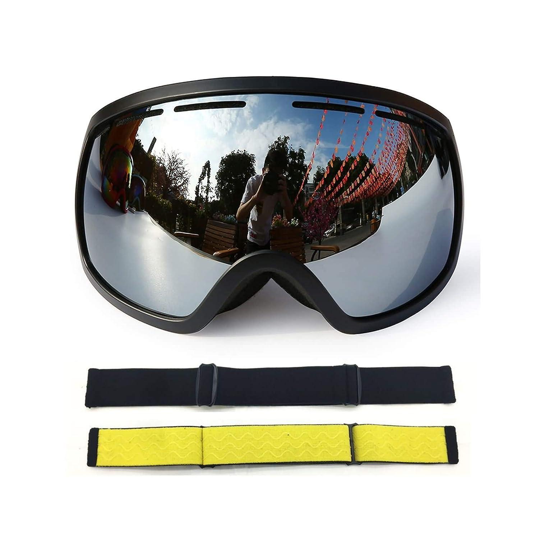 Sportbrille Zum Skifahren Damen Herren Große Kugelförmige Große Skibrille Mit Doppeltem Permanenter Anti Fog Skibrille Coca Myopie