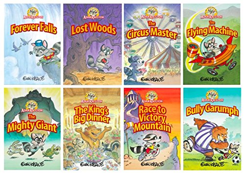 Adventures Of Adam Raccoon 8 Volume Set by GEG