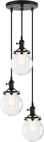 Pathson Industrial Island Pendant Light