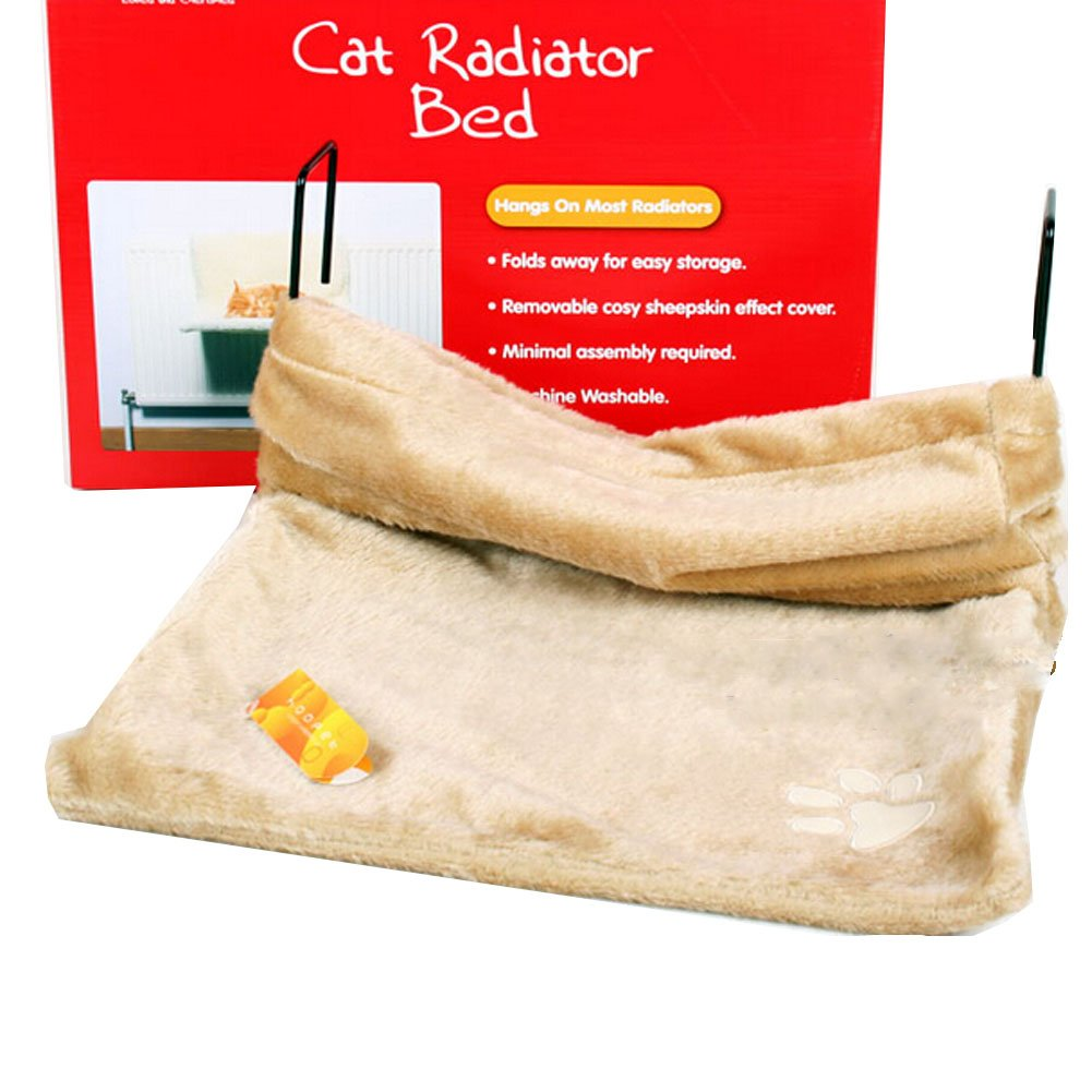 High Grade Solid Soft Dog Cat Pet Bed,Cat Hammock,BEIGE,(18 12 10 )
