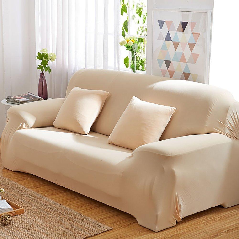 Amazon.com: DULPLAY Cotton Sofa Furniture Protector,Non-Slip ...