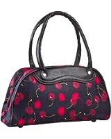TOP FUEL FASHION Tasche Cherry II schwarz Handtasche Kirschen