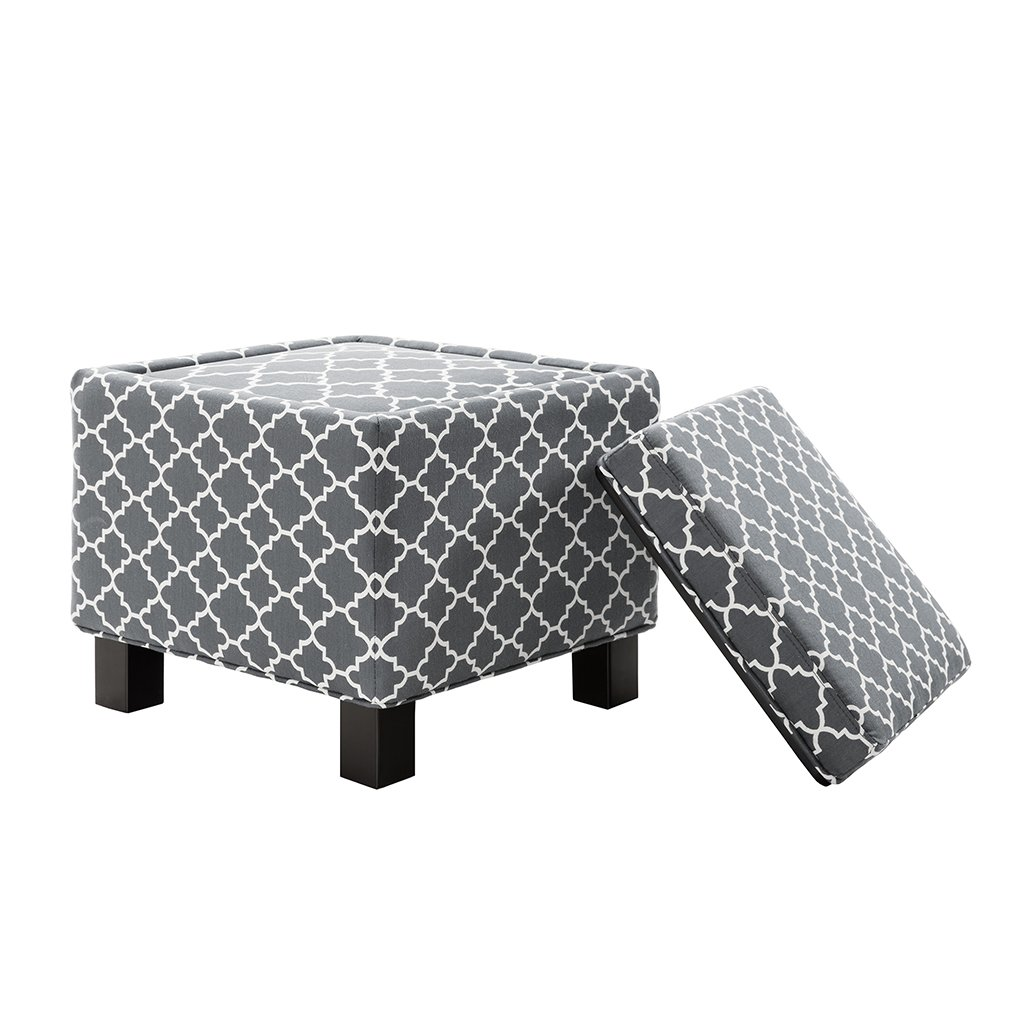 Madison Park FPF18-0489 Shelley Square Storage Ottoman with Pillows by Madison Park (Image #2)