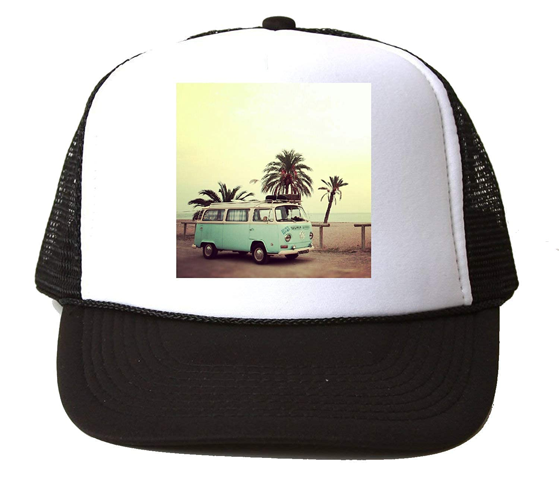 KRISSY Summer Van Vintage Retro Poster Ibiza Travel Baseball Cap ...
