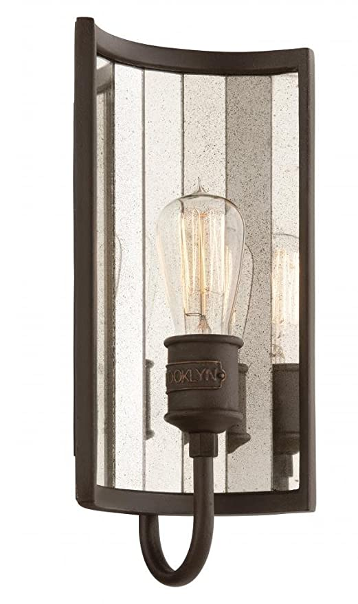 Amazon.com: Troy b3141 Brooklyn 1 luz Ada Compliant ...