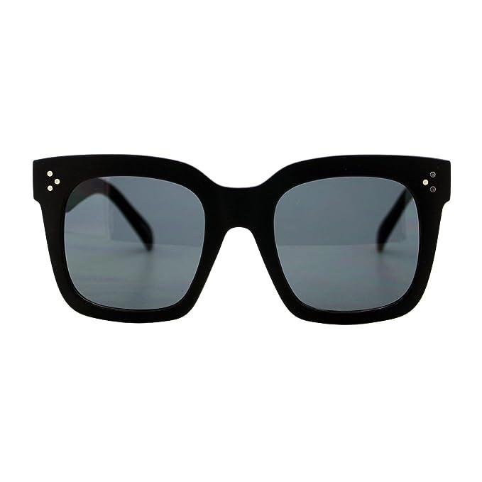 Amazon.com: Gafas de sol de gran tamaño para mujer con marco ...