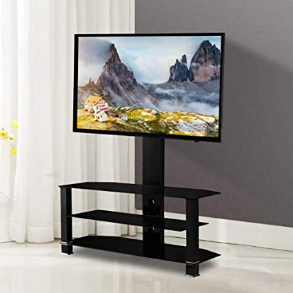 new product 1d6f0 e266b Mecor TV Stand with Mount Bracket for 32