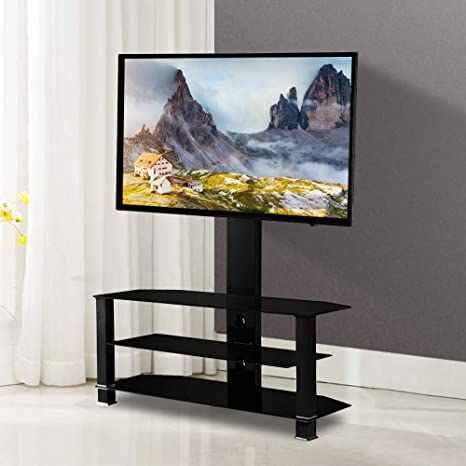 Amazon Com Mecor Tv Stand With Mount Bracket For 32 55 Tv Center