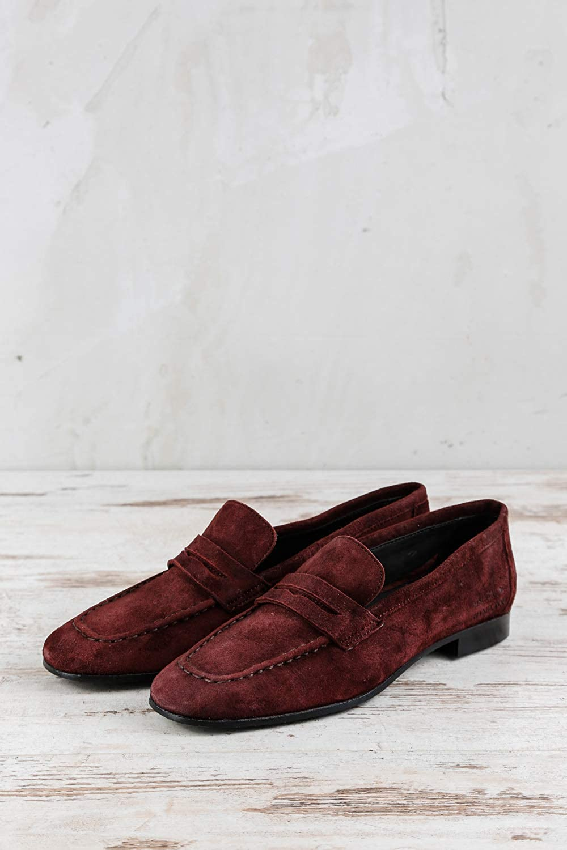 Melvin & Hamilton MH15-1311 - Mocasines de Cuero para Mujer Rojo Rojo, Color Rojo, Talla 37 EU: Amazon.es: Zapatos y complementos