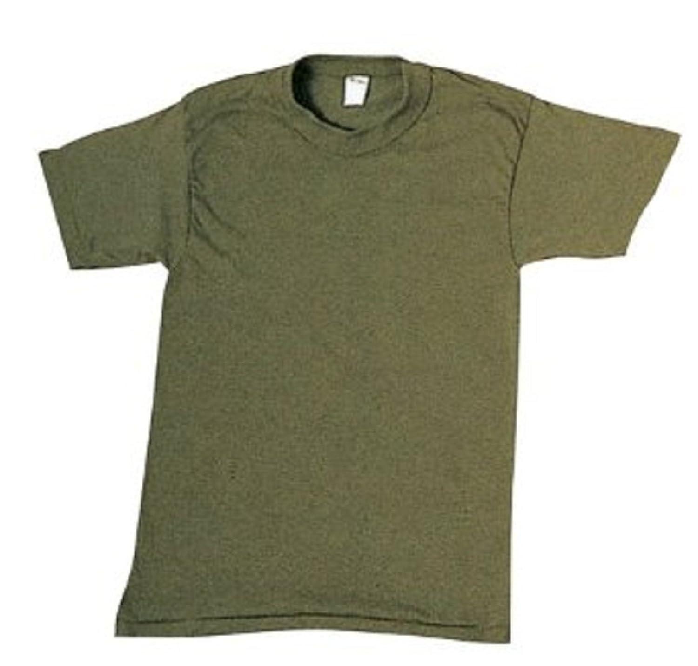 Perfect Amazon.com: 7979 OD/Green 100% Cotton T-Shirt: Military Apparel  DZ08