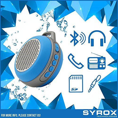 Razr Maxx Ve (#1 for Motorola RAZR maxx Ve MOTORAZR maxx Ve Bluetooth Speaker More Bass - HD Sound, Portable Keychain Chargable SD Card AUX FM Radio Microphone High Volume Blue)