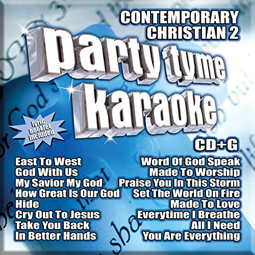 Party Tyme Karaoke - Contemporary Christian 2 (16-song CD+G)