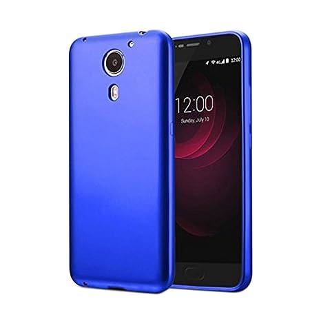 Guran® Silicona Funda Carcasa para UMI Plus Smartphone TPU Bumper Shock case Cover-Azul