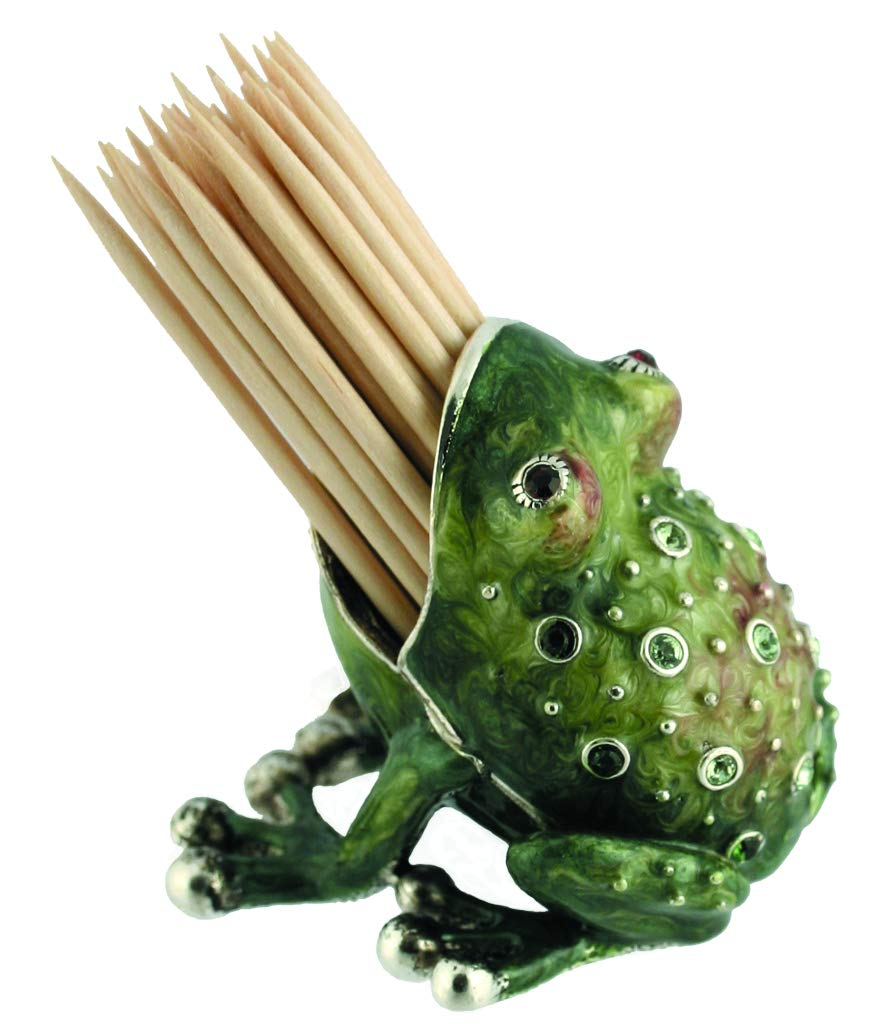 Quest Collection Frog Toothpick Holder by Quest Collection