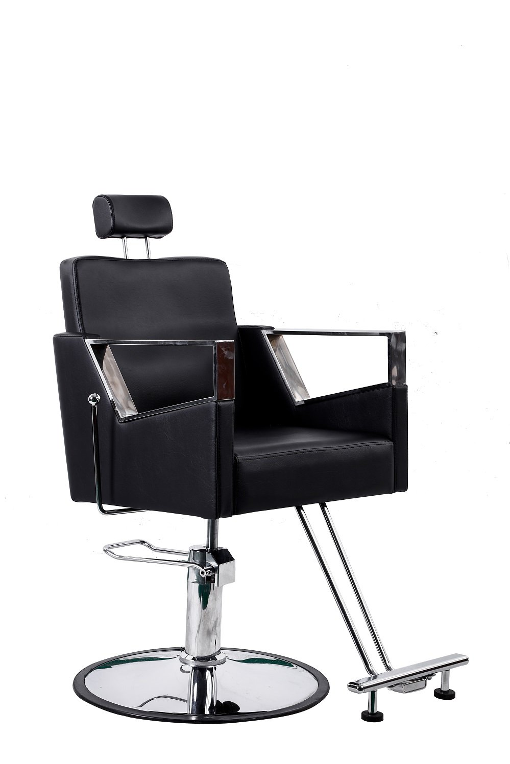 Miraculous Danyel Beauty Profession Black Recline Hydraulic Barber Styling Chair Round Base Gmtry Best Dining Table And Chair Ideas Images Gmtryco