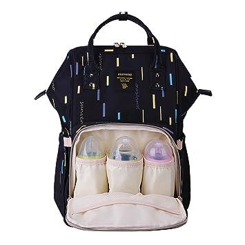 Amazon.com: sunveno – Bolsa de Pañales Mummy bolsa de bolsa ...
