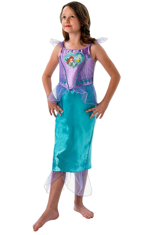 Loveheart Ariel Girls Fancy Dress Fairytale Little Mermaid Kids ...