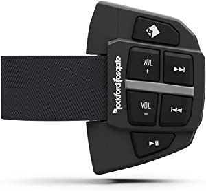 Rockford Fosgate PMX-BTUR Universal Bluetooth Steering Wheel Remote Controller for Car, Truck, Boat, Tractor or UTV