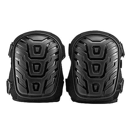 FANQIECHAODAN Rodilleras Almohadillas de espuma de alta resistencia profesional Cojín cómodo Tirantes dobles fuertes Protector de