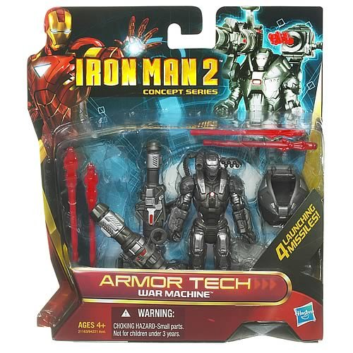 Iron Man Armor Tech Deluxe War Machine Action Figure (War Machine Figure)