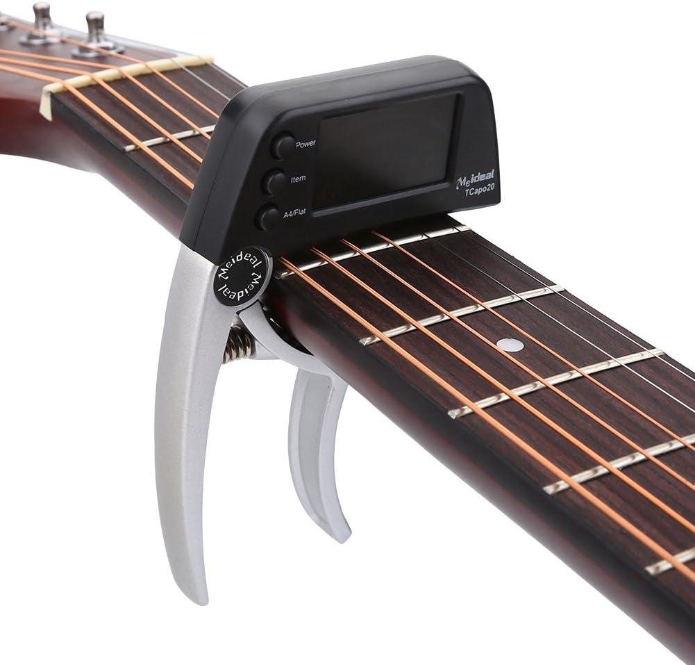 Dilwe Guitarra Electrica Capo,Metal de Cambio Rápido con Una Sola ...