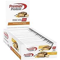 Premier Protein - Protein Bar Deluxe, Eiweißriegel, mit hohem Proteingehalt 40%, kohlenhydratreduziert - Chocolate Peanut Butter (18x50g)