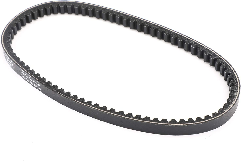 Topteng Drive Belt,Severe Duty Drive Belt with Well Designed Durable Smooth CVT Non-slip Heat Dissipation for Su-zu-ki LT80 Quadsport 80 87-06 Ka-wasaki KFX80 03-06
