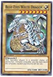 Yu-Gi-Oh! - Blue-Eyes White Dragon (YSKR-EN001) - Starter Deck: Kaiba Reloaded - 1st Edition - Common