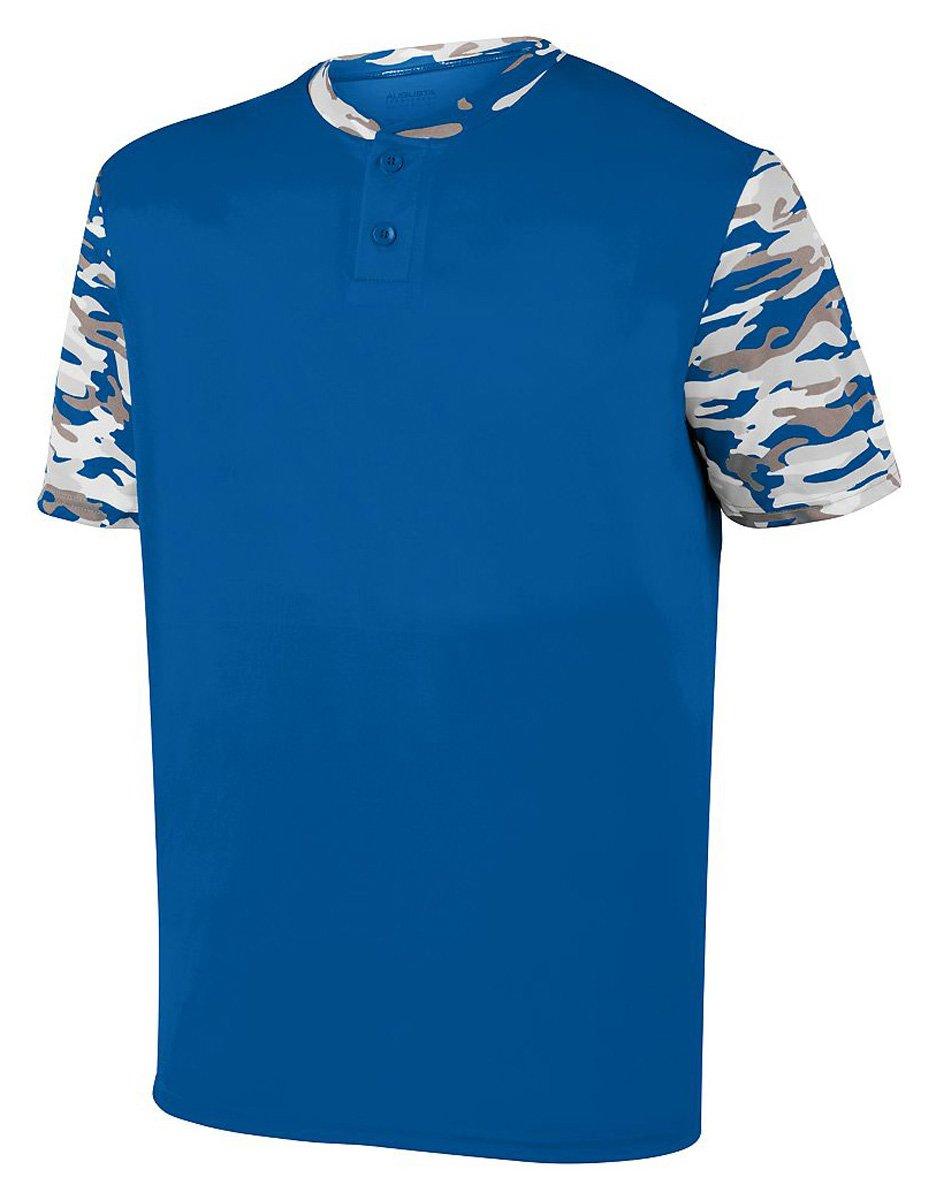 Augusta SportswearメンズPop Fly Jersey B01MDLKXPM XX-Large|Royal/Royal Mod Royal/Royal Mod XX-Large