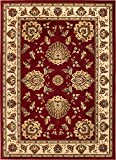Cheap Well Woven Timeless Abbasi Red Traditional Area Rug 2'3″ X 3'11""