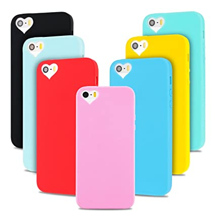 7 * Funda iPhone 5S, iPhone 5 Funda , SpiritSun Soft Carcasa ...