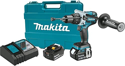 Makita XPH07MB 18V LXT BL Hammer Drill Kit