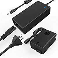 F1TP ACPW20 AC Power Supply Adapter kit (Replace Sony NP-FW50 Battery) for Sony Alpha A7000 A6500 A6400 A6300 A6100…