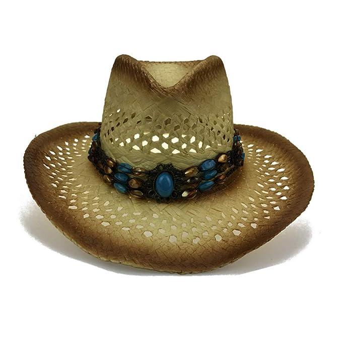 August Jim - Sombrero de Paja Hombre fab2bf48efe