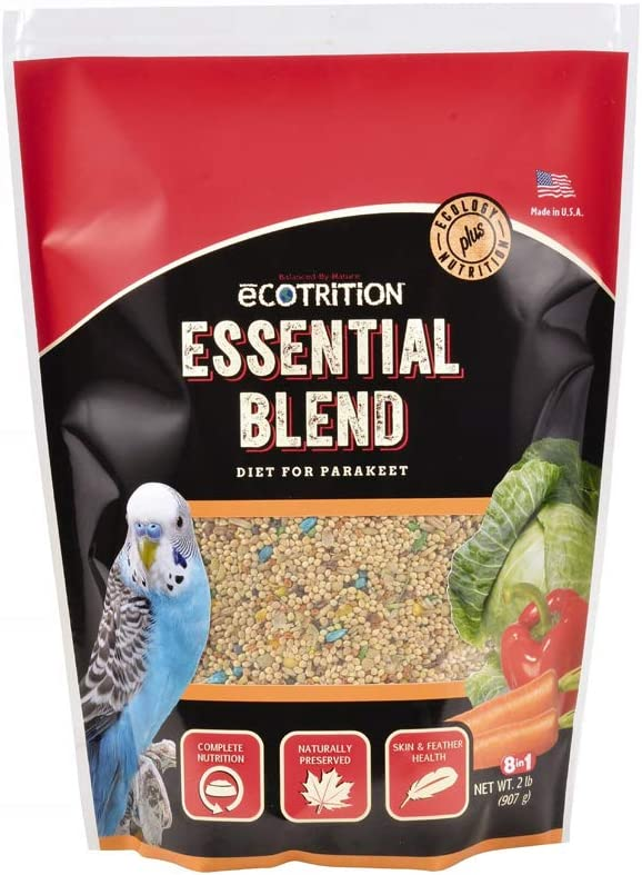 Ecotrition Essential Blend for Parakeets (A2102), 2 lbs