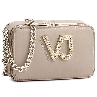 a88e395ac6 Amazon.com  Versace EE1VRBBC2 Beige Shoulder Bag for Womens  Shoes