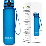 Brimma Premium Sports Water Bottle With Leak Proof Flip Top Lid - 18 Oz - Eco Friendly & BPA Free Tritan Plastic - Must Have For The Gym, Yoga, Running, Outdoors, Cycling, and Camping - By