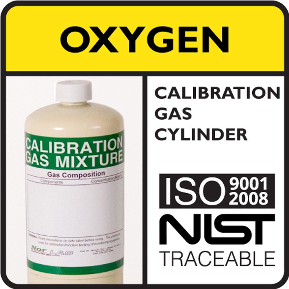 8.0% by Volume Oxygen Calibration Gas, Balance Nitrogen, 103 Liter Steel Cylinder.: Amazon.com: Industrial & Scientific