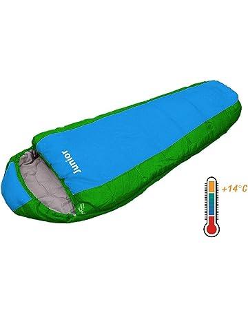 Explorer Junior 4630 - Saco de dormir para nio, 170 x 70 x 50 cm