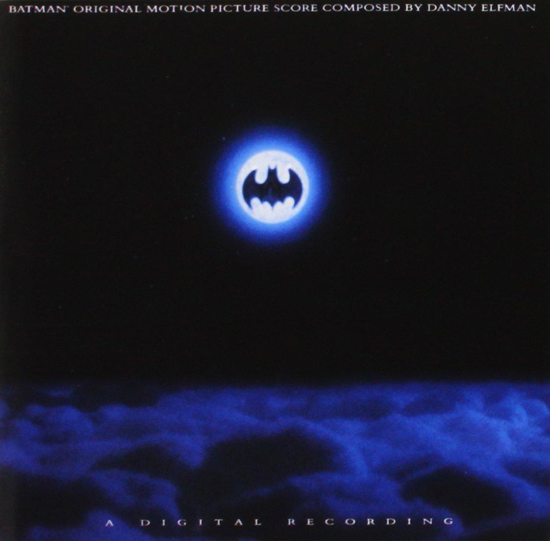 Resultado de imagen de batman danny elfman soundtrack portadas discos