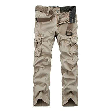 5c3b4c5e Image Unavailable. Image not available for. Color: Spring Hot Designer Tactical  Cargo Pants Men Casual Slim Cotton ...