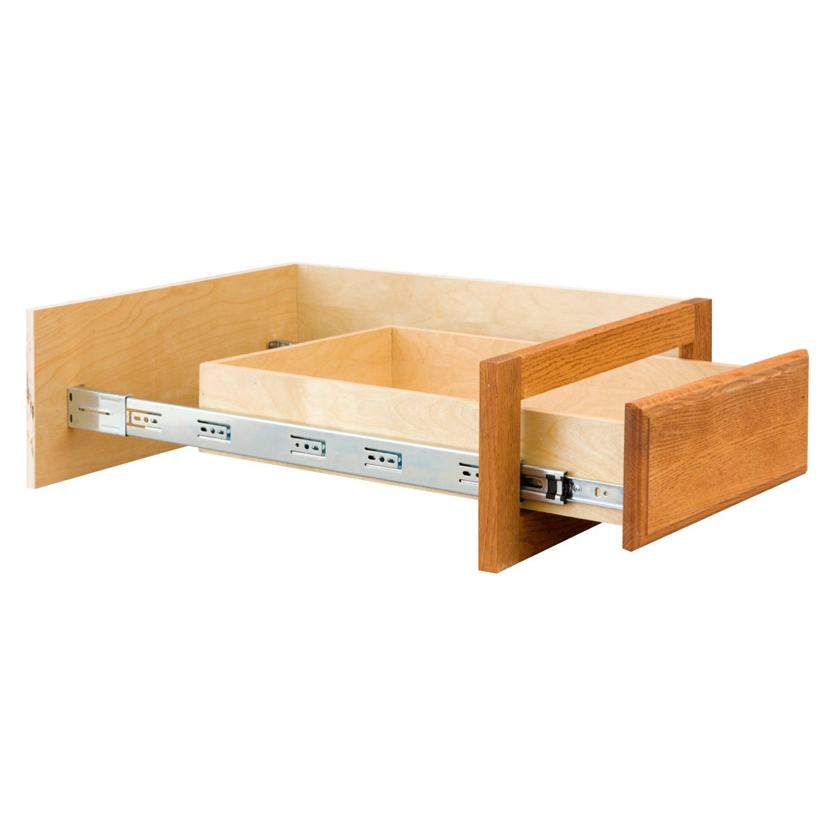 Selfclosing Drawer Slides How Do They Work Blum Lowprofile 34 Extension Epoxy Coated Drawer
