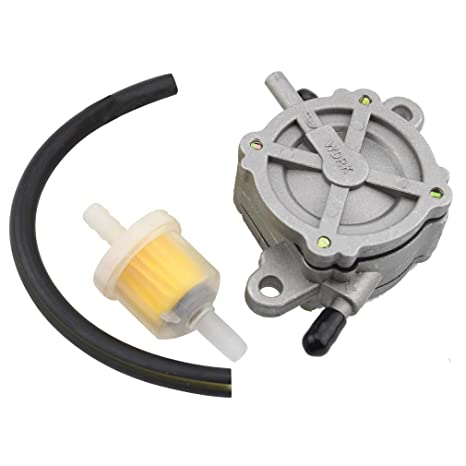 GOOFIT Outlet Vacuum Fuel Pump Assembly for GY6 50cc 125cc 150cc ATV Go  Kart Scooter Moped 4 Wheeler Quad Bikes Dune Buggy
